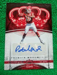 MAHOMES AUTO RC NFL FOOTBALL Canby, 97013