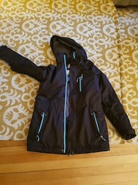 Large black women's O'Neil snowboarding coat Ottawa, K2P 1S5