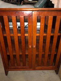 brown wooden headboard and footboard Quincy, 02171