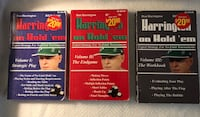 "Harrington on Hold'em"" Books by Dan Harrington, Volumes 1, 2 & 3 Waldorf, 20601"