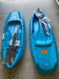 Brand New Lifetime Youth Sit on Kayak