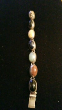 Sterling silver multicolored stone also jade  Hyattsville, 20784