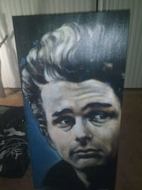 """James"" james dean Steven Fishwick painting"