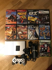 Sony ps2 PlayStation 2 Console bundle with games Georgetown, L7G 6C3