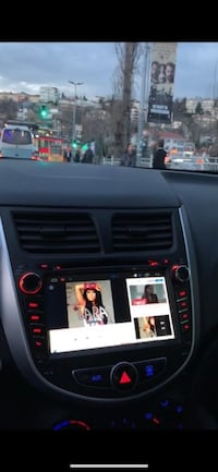 Android multimedia hyundai accent blue