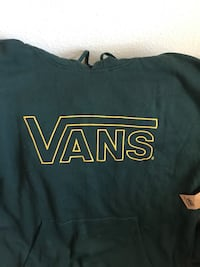 Vans hoodie. New with tags. Hunter green xxl  Burleson, 76028