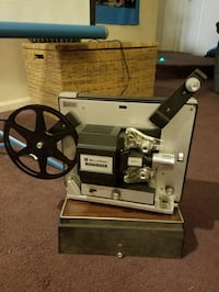 Vintage Bell & Howell Projector 461A with screen Gaithersburg, 20886
