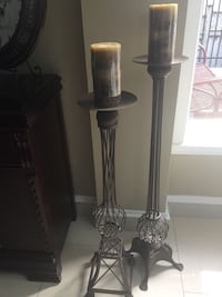 Tall standing Iron candle holders Vaughan, L6A 1G6