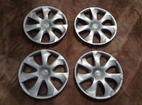 "Set of 4 - 16"" Mazda Hub Cap Wheel Covers"