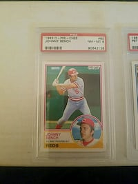 1983 O-PEE-CHEE Johnny Bench