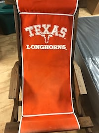 Texas longhorn lounge chair (real wood) Plantersville, 77363