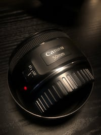 Canon 50mm lens with hood  Mississauga, L4Z 3M1
