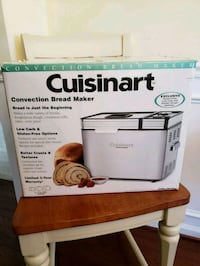 Bread maker, opened, not used