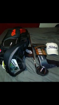 Ping bag and golf set Louisville