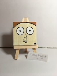 Morty magnet Mini Canvas