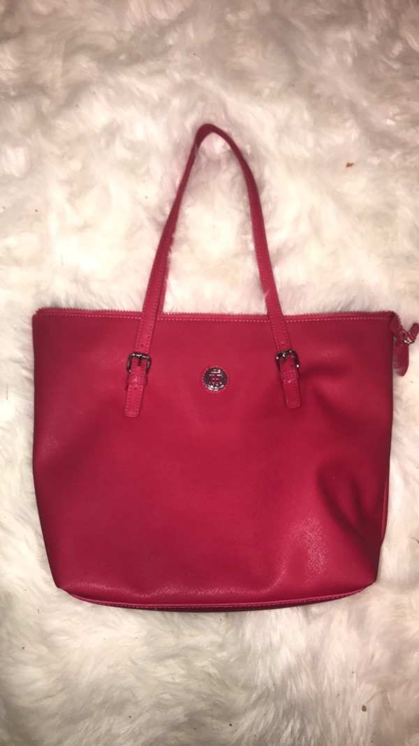 Tommy hilfiger hot pink tote