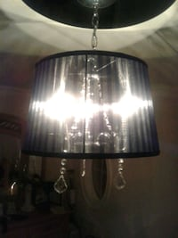 Sheer black crystal chandelier  Toronto, M6N 5E2