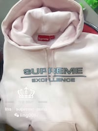 authentic Supreme excellence hoodie size m