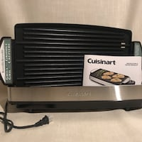 Cuisinart Grill & Griddle Brand New, in box! Kitchener, N2E
