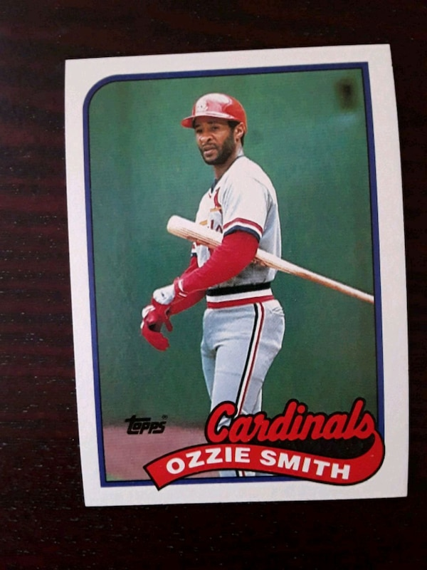 1989 Ozzie Smith Baseball Card