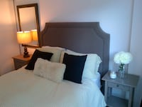 Upholstered Queen Size Headboard Mississauga