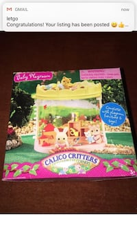 Used Baby Playroom Calico Critters Box For Sale In Mount Laurel Letgo