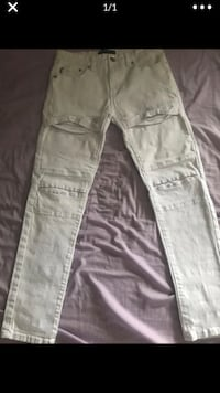 New big boys stretch twill jogger pants - size 14 - retails for $17.99