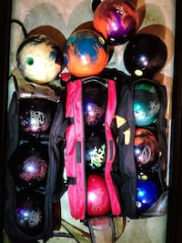 BOWLING BALLS $125 FOR ALL OF THEM Hyattsville, 20783