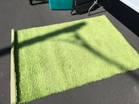 green area rug Russell, K4R 0B7