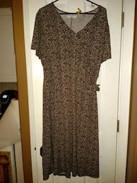 Leopard Print Dress  Covington