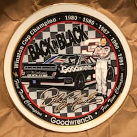 """Dale Earnhardt Five Time Champion """"Back in Black"""" Collector Plate Brandon, 39042"""