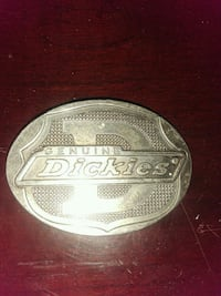 oval silver-colored Dickies belt buckle Lebanon, 37087