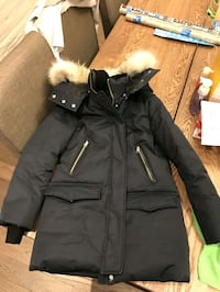 Mackage black winter parka Markham, L3R 5R9