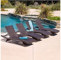 Chaise Lounge, Set of Four 19 mi