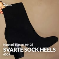 Knit ankle boots bianco Oslo, 0984