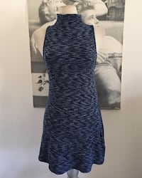Silence + noise musk curved blue dress  Los Angeles, 91402