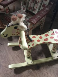 white and brown rocking horse Branchville, 07826