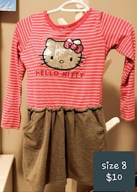 pink and white Hello Kitty long-sleeved shirt Calgary, T2X