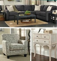 Designer sectional $899 no credit Check financing  Roslyn Heights, 11577
