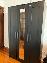 IKEA black cupboard