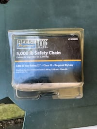 5,000 pound safety chain for a tow trailer