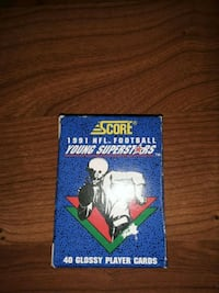 1991 score young superstar (40 cards)