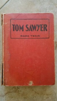 "81yr old ""The adventures of Tom Sawyer"" Mark Twain book Henderson, 89014"