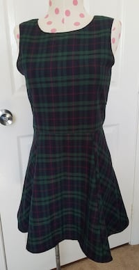 Women's small green plaid dress San Diego, 92124