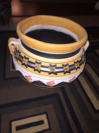 Hand made & painted Mexican pottery