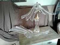 glass table lamp Upper Marlboro, 20774