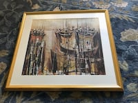 2 framed art prints Clifton