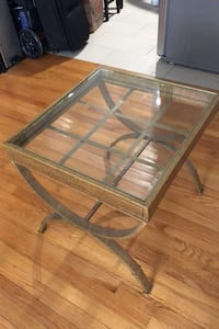 Glass Top Coffee table / Side table
