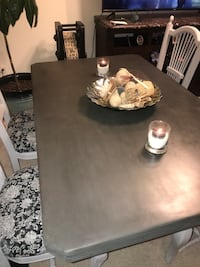 Weathered Kitchen Table