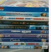 assorted-title DVD case lot Vancouver, V5X 1N4
